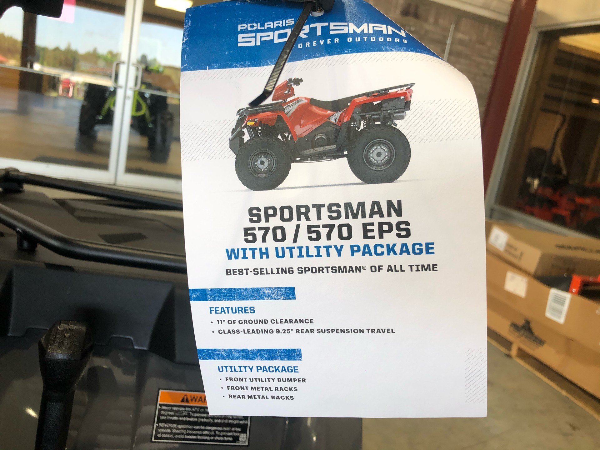2020 Polaris Sportsman 570 Utility Package in Saucier, Mississippi - Photo 14