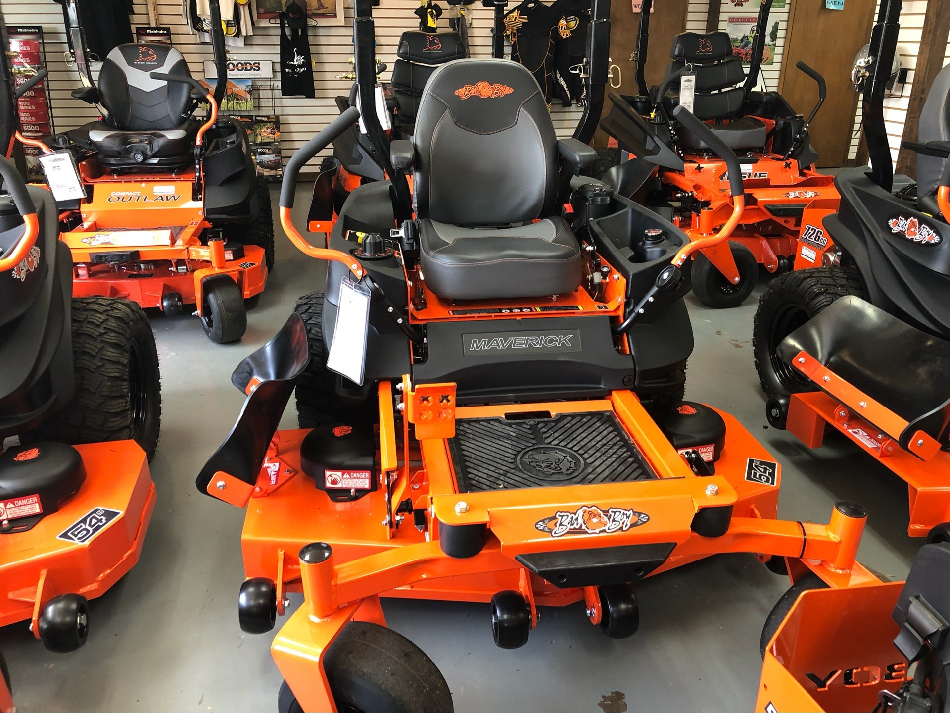 "2019 Bad Boy Mowers Maverick 54"" with Kohler Confidant 747cc in Saucier, Mississippi - Photo 2"