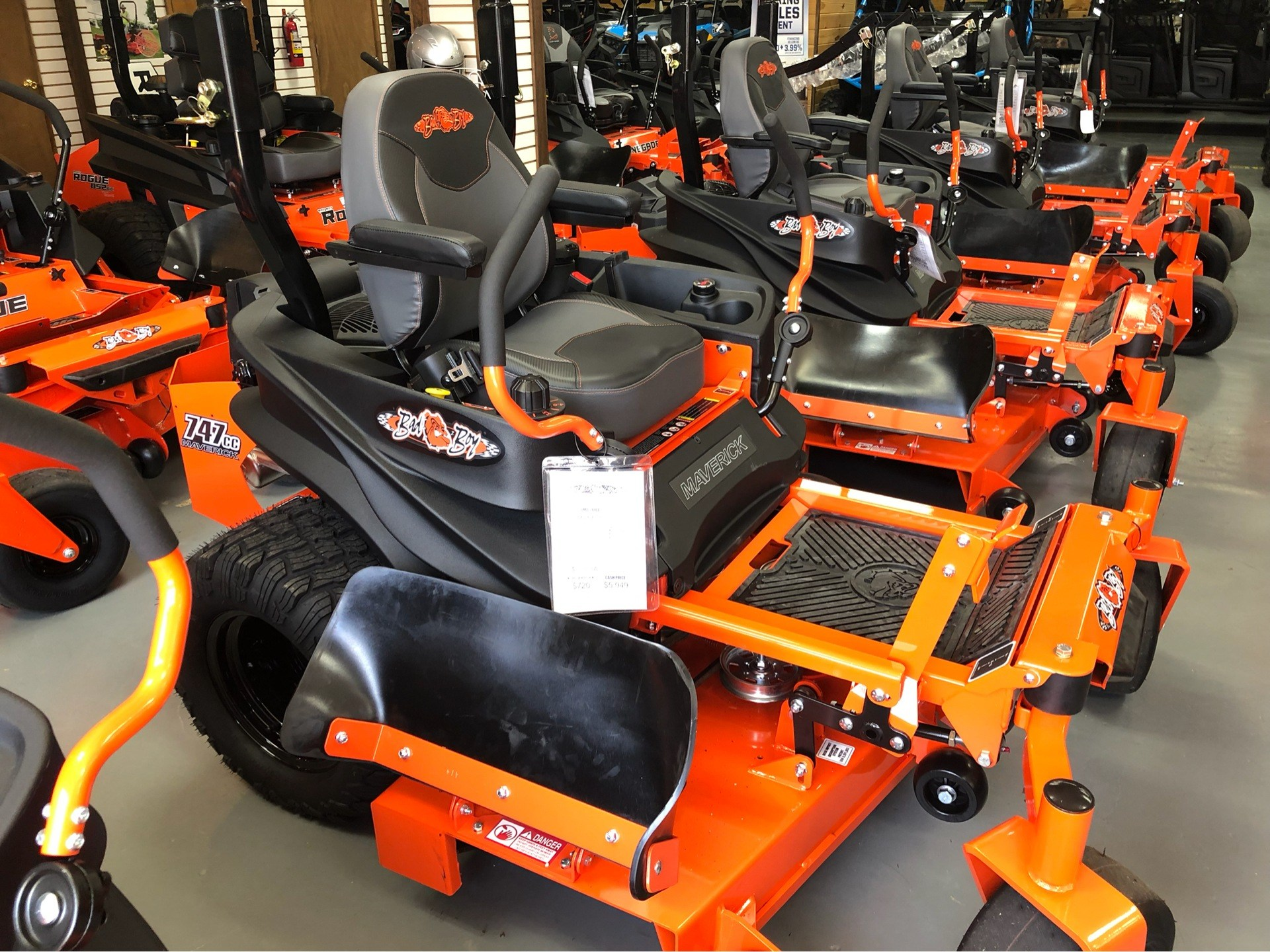 "2019 Bad Boy Mowers Maverick 54"" with Kohler Confidant 747cc in Saucier, Mississippi - Photo 5"