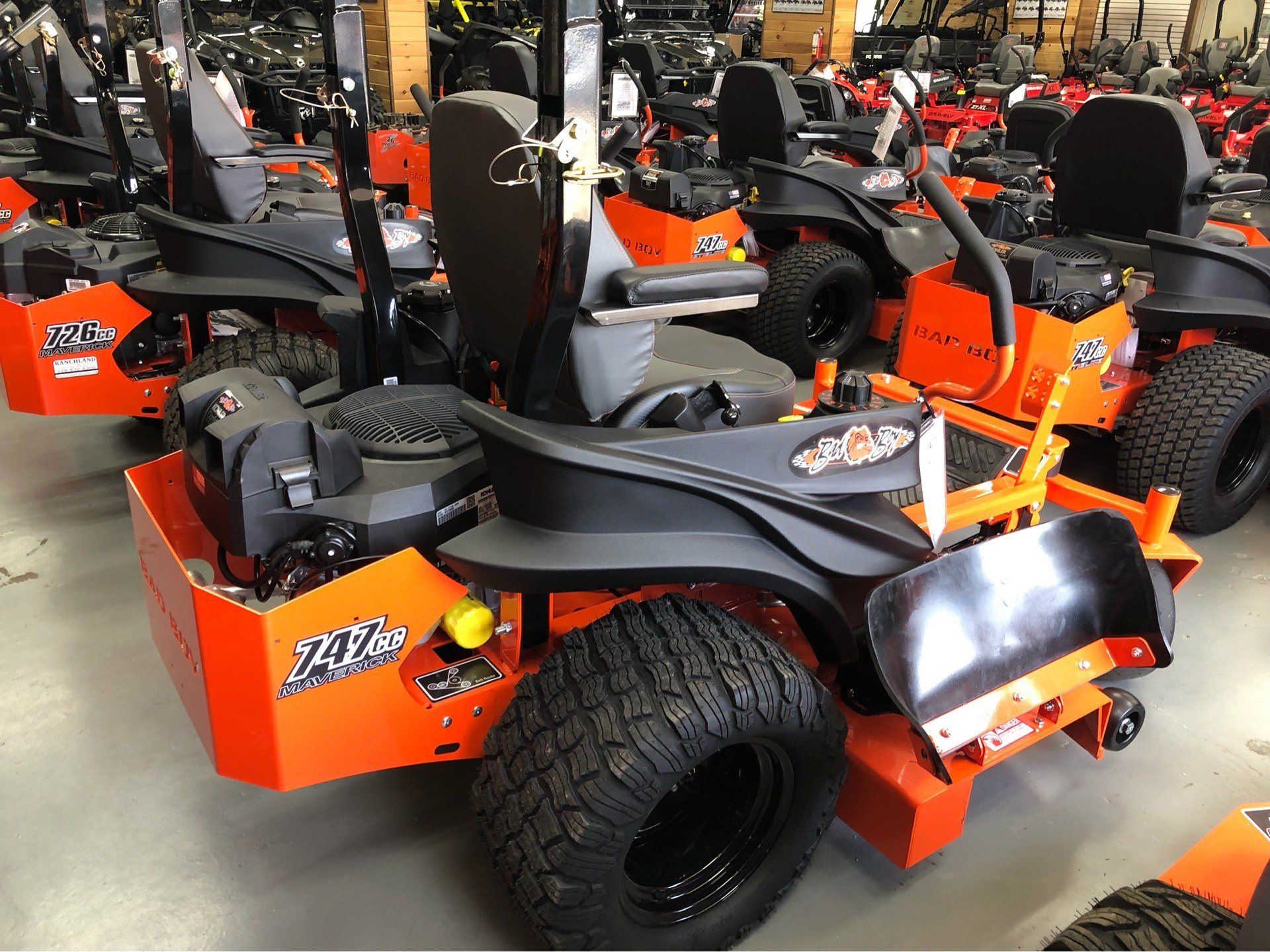 "2019 Bad Boy Mowers Maverick 54"" with Kohler Confidant 747cc in Saucier, Mississippi - Photo 8"