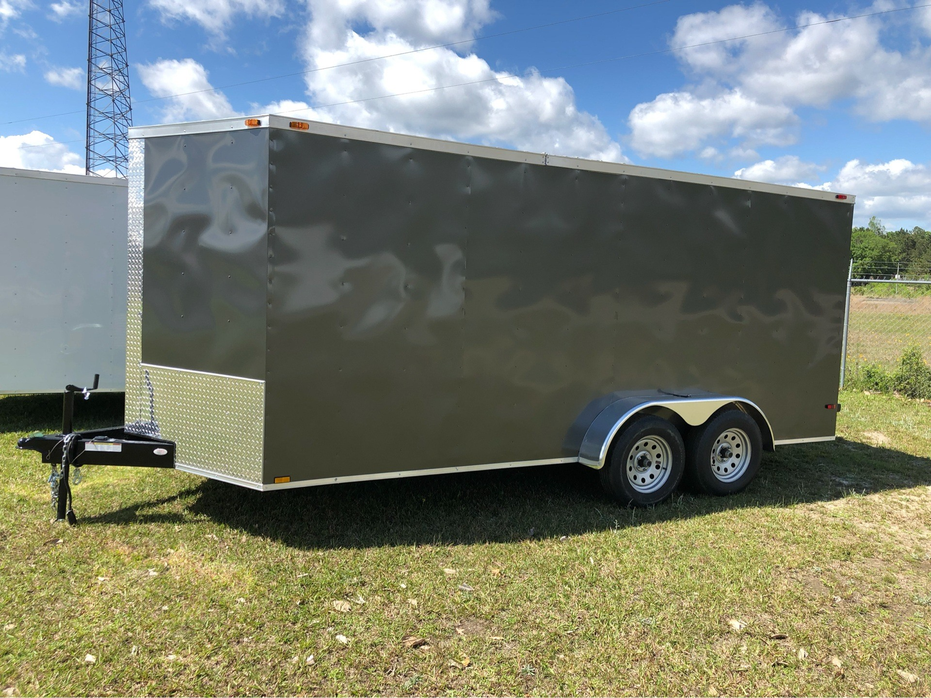2019 Triple R Trailers 7x16 V-Nose, Ramp Door, Side Door in Saucier, Mississippi - Photo 1