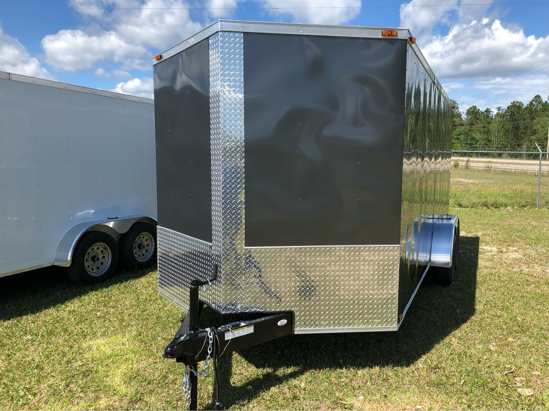 2019 Triple R Trailers 7x16 V-Nose, Ramp Door, Side Door in Saucier, Mississippi - Photo 3