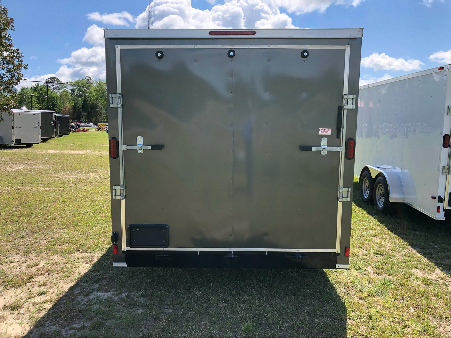 2019 Triple R Trailers 7x16 V-Nose, Ramp Door, Side Door in Saucier, Mississippi - Photo 7