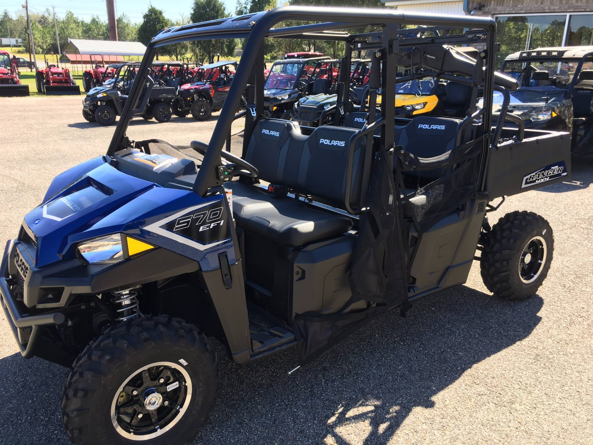 2018 Polaris Ranger Crew 570-4 EPS in Saucier, Mississippi