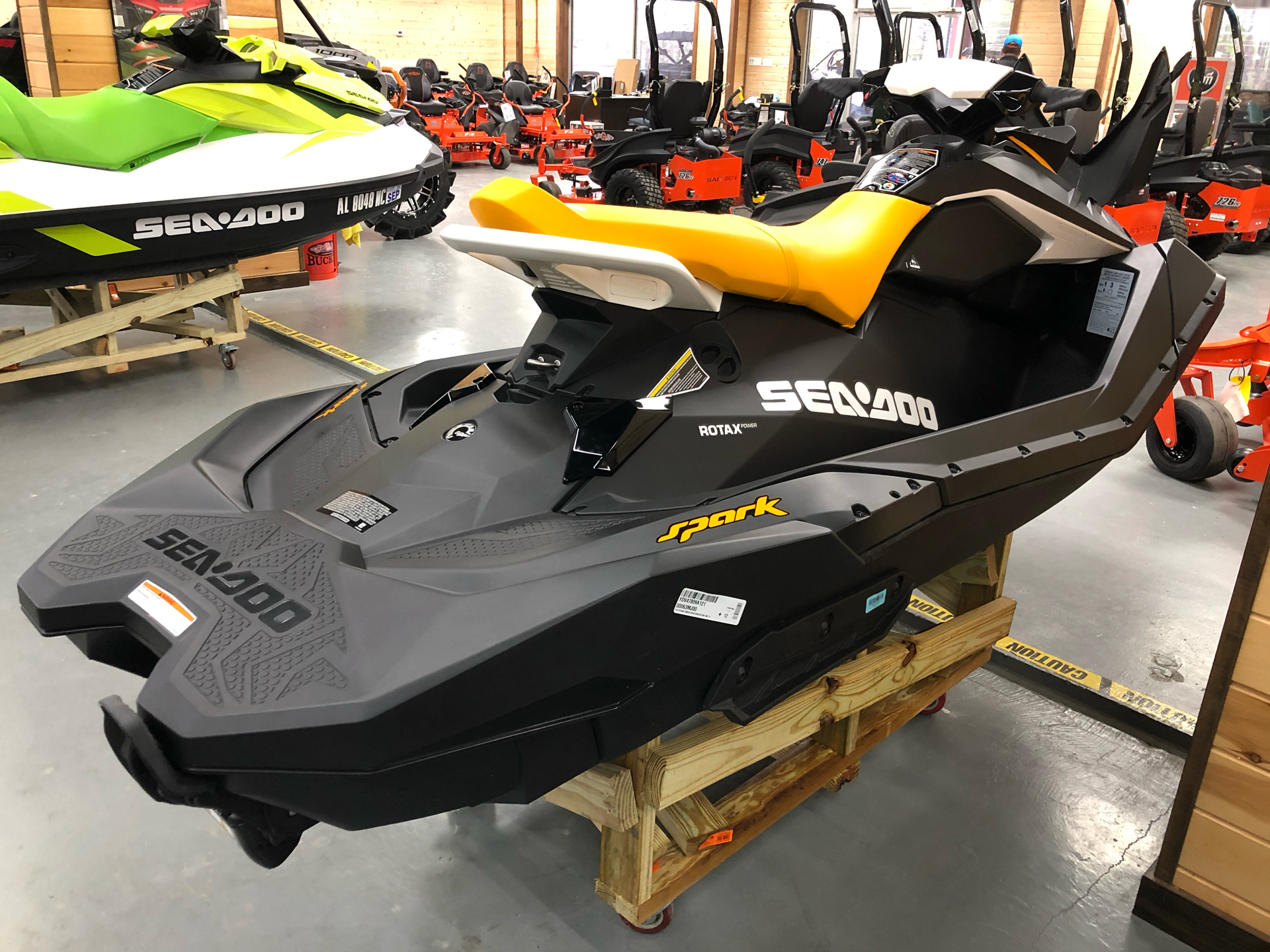 2021 Sea-Doo Spark 3up 90 hp iBR, Convenience Package + Sound System in Saucier, Mississippi - Photo 1
