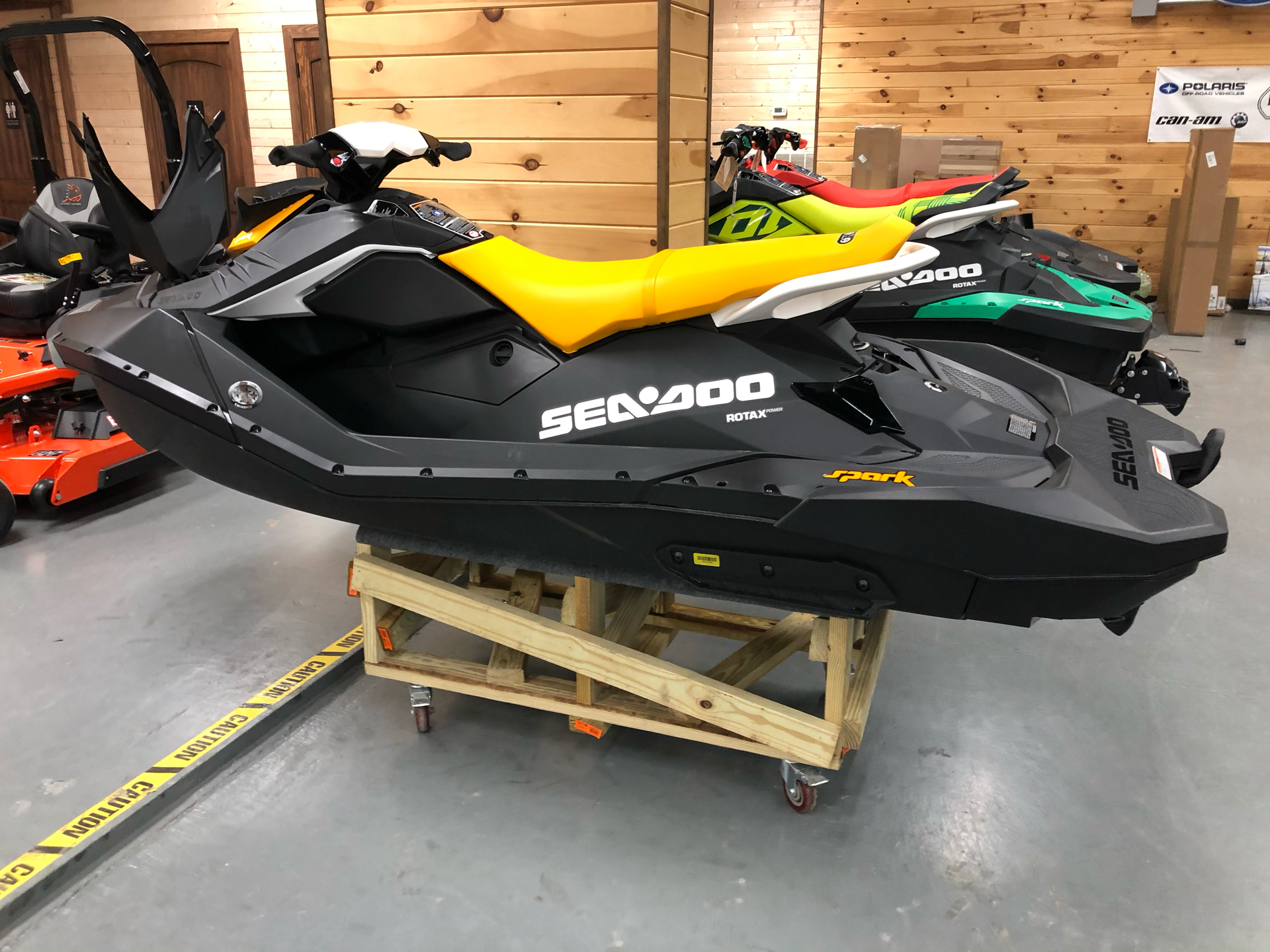 2021 Sea-Doo Spark 3up 90 hp iBR, Convenience Package + Sound System in Saucier, Mississippi - Photo 3