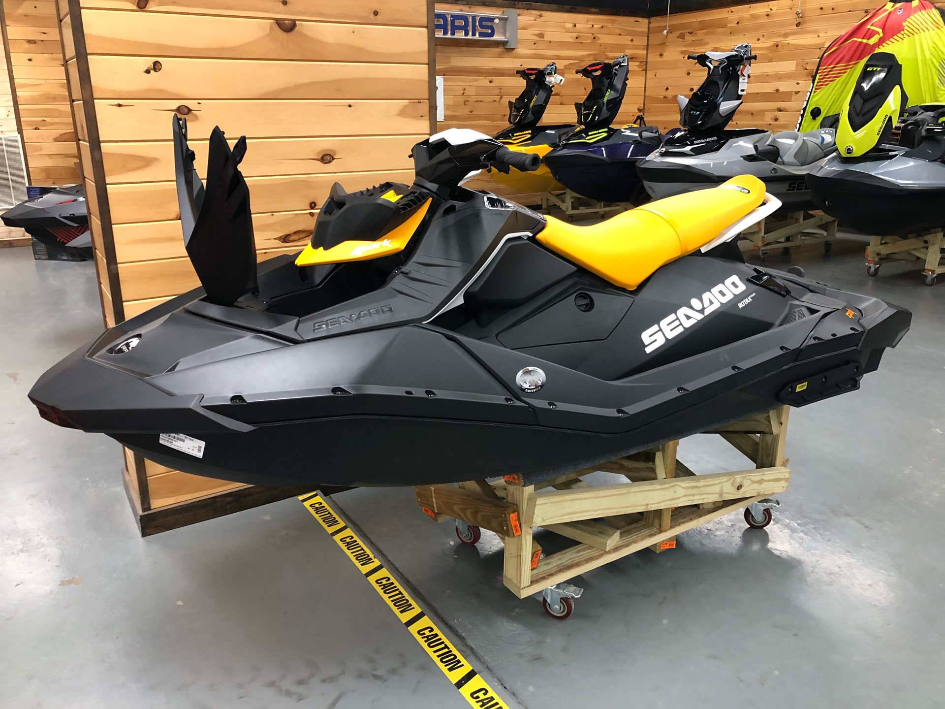 2021 Sea-Doo Spark 3up 90 hp iBR, Convenience Package + Sound System in Saucier, Mississippi - Photo 5