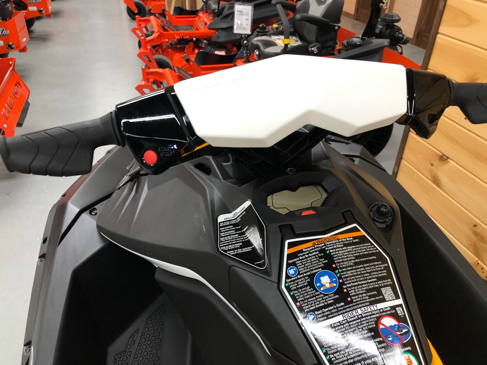2021 Sea-Doo Spark 3up 90 hp iBR, Convenience Package + Sound System in Saucier, Mississippi - Photo 10