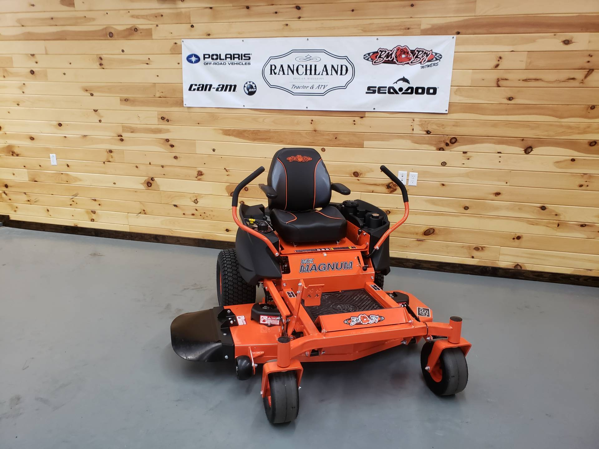 "2019 Bad Boy Mowers MZ Magnum 48"" with Kawasaki FR651 in Saucier, Mississippi - Photo 1"