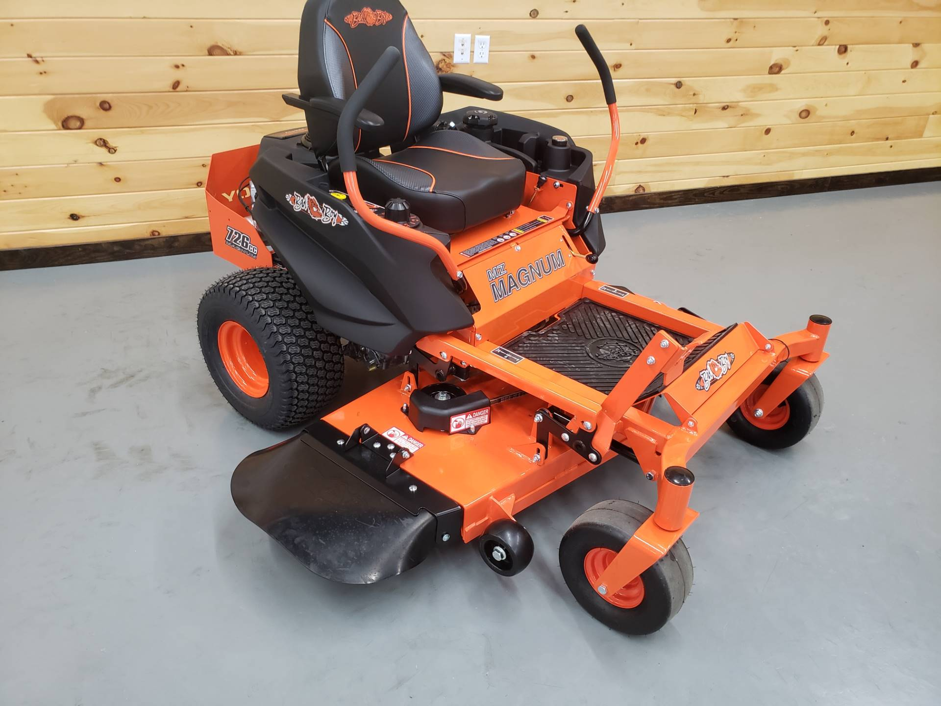 "2019 Bad Boy Mowers MZ Magnum 48"" with Kawasaki FR651 in Saucier, Mississippi - Photo 3"