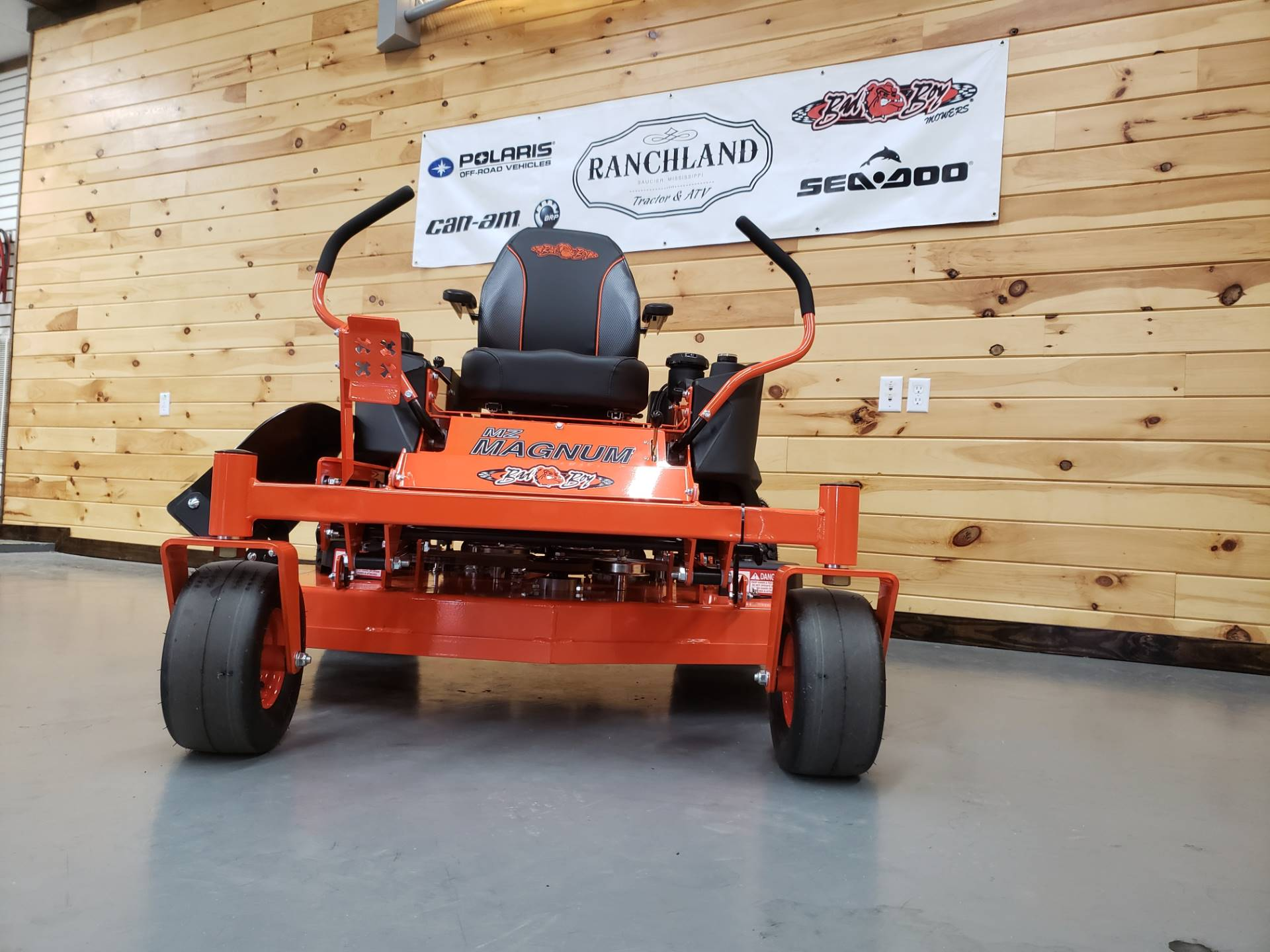 "2019 Bad Boy Mowers MZ Magnum 48"" with Kawasaki FR651 in Saucier, Mississippi - Photo 11"
