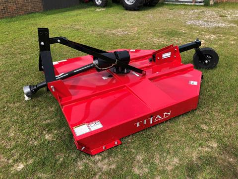 2019 Titan Implement 6' MD Cutter - Slip Clutch and Chains in Saucier, Mississippi - Photo 3