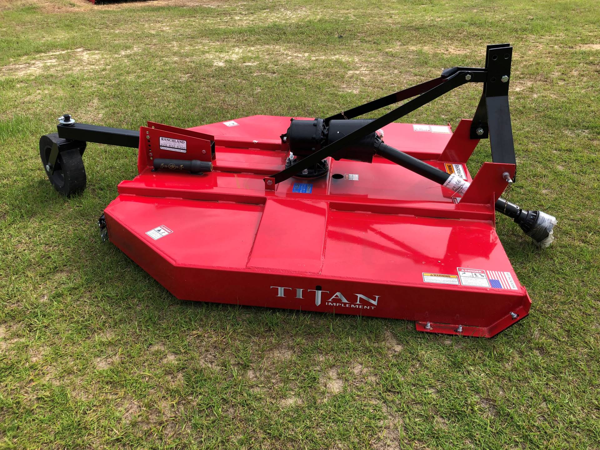 2019 Titan Implement 6' MD Cutter - Slip Clutch and Chains in Saucier, Mississippi - Photo 7