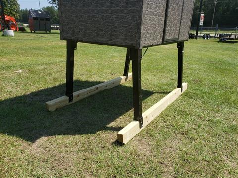 2020 The Antler Shed 6' Shed Sled Kit - 3' Tall in Saucier, Mississippi - Photo 3