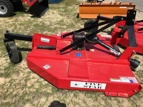 2018 Five Star 1305-RA  5' MD Rotary Cutter in Saucier, Mississippi