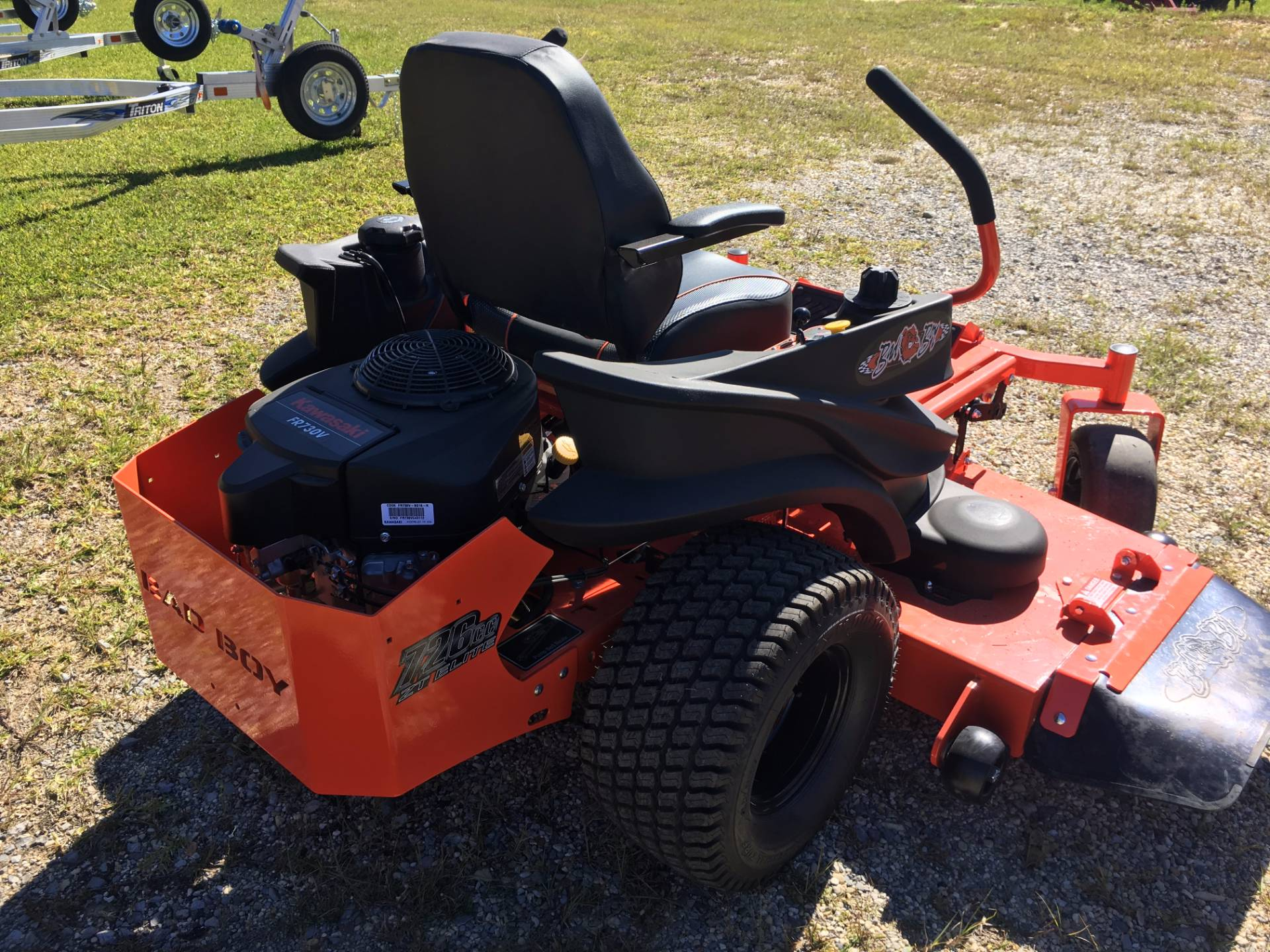 2017 Bad Boy Mowers ZT 60 with Kawasaki Engine in Saucier, Mississippi