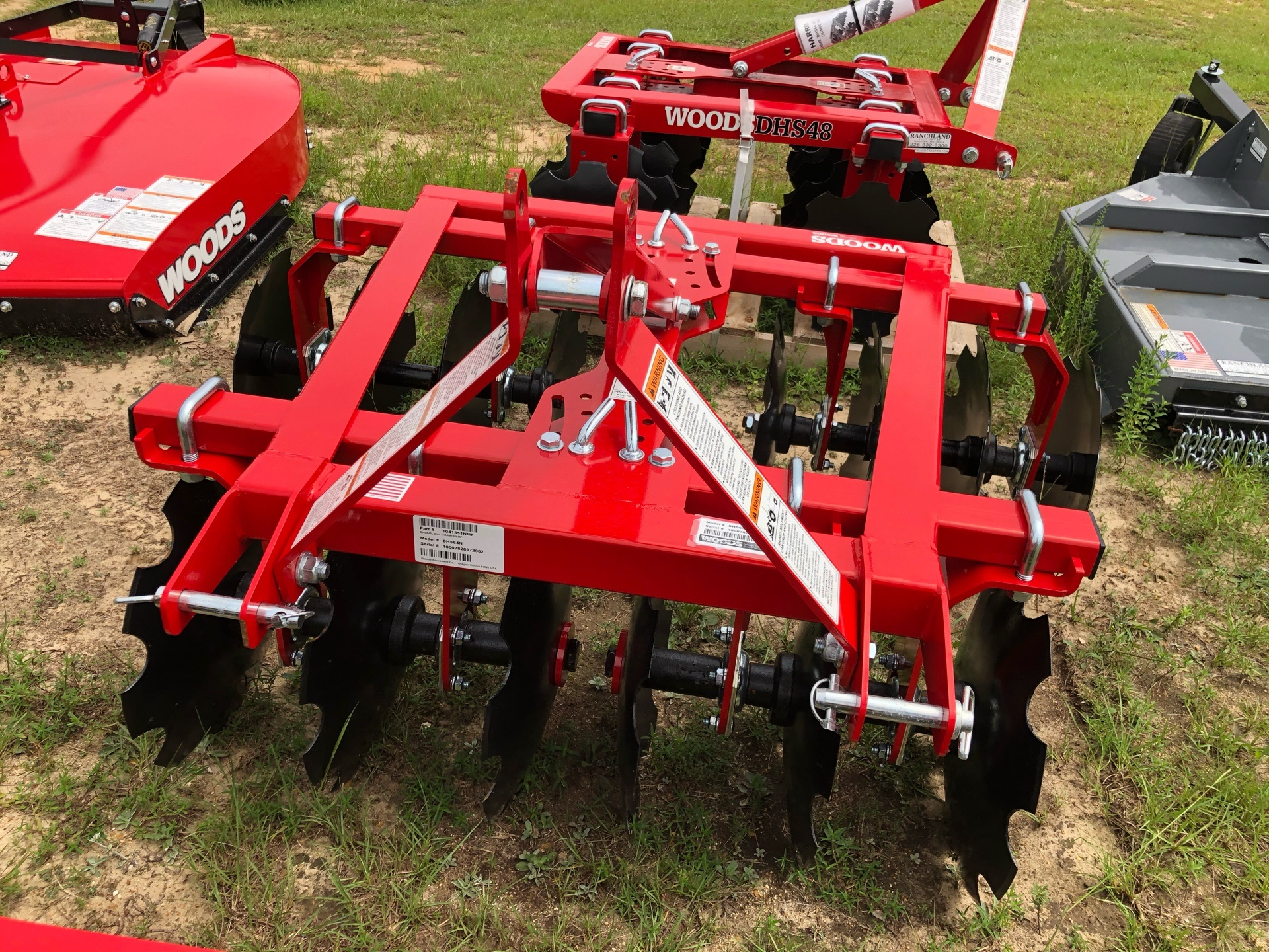 2020 Woods DHS64 Disc Harrow in Saucier, Mississippi - Photo 2