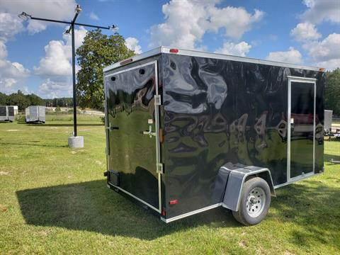 2019 Triple R Trailers 6x12 V-nose Cargo Trailer in Saucier, Mississippi - Photo 2