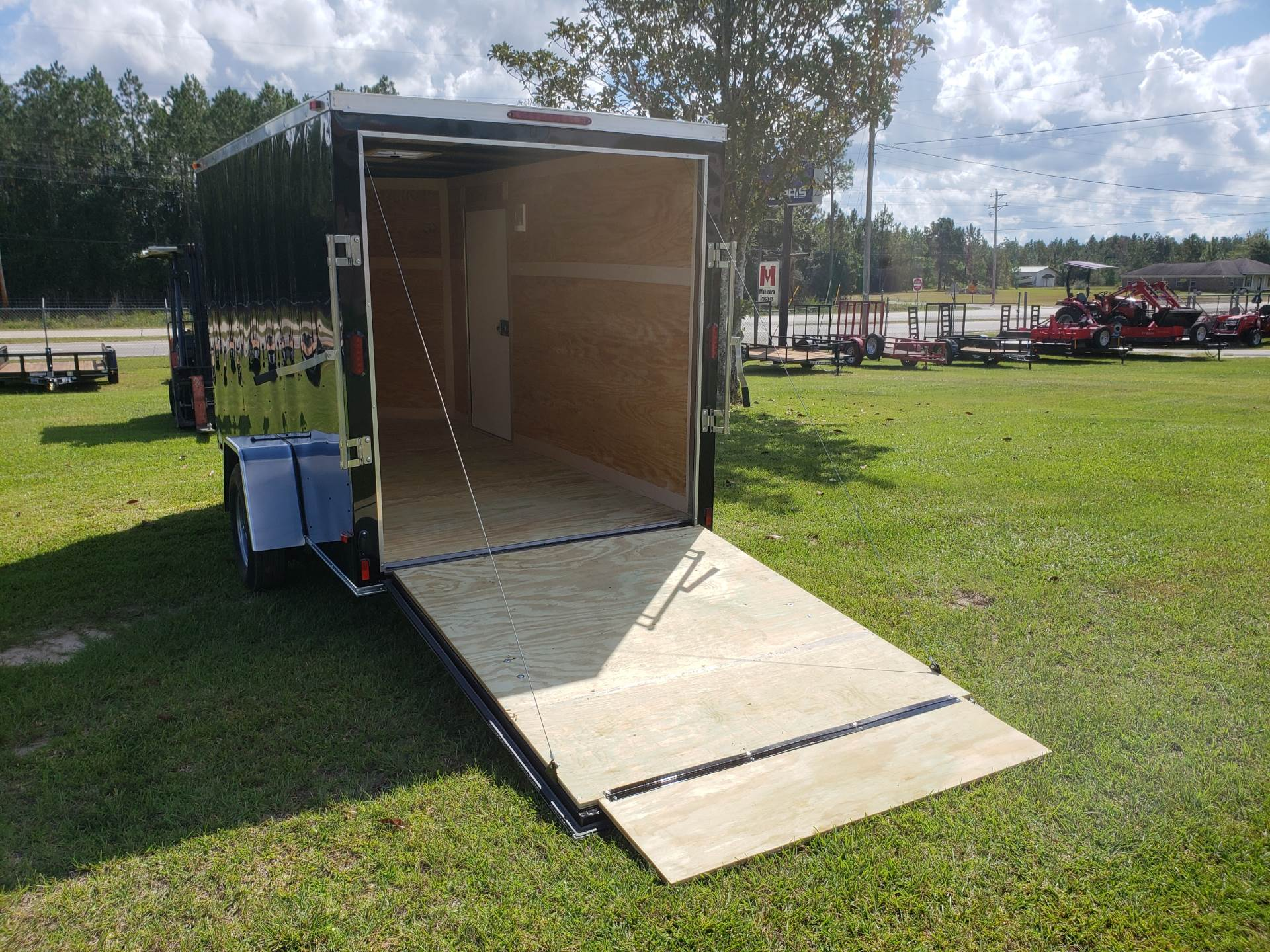 2019 Triple R Trailers 6x12 V-nose Cargo Trailer in Saucier, Mississippi - Photo 3