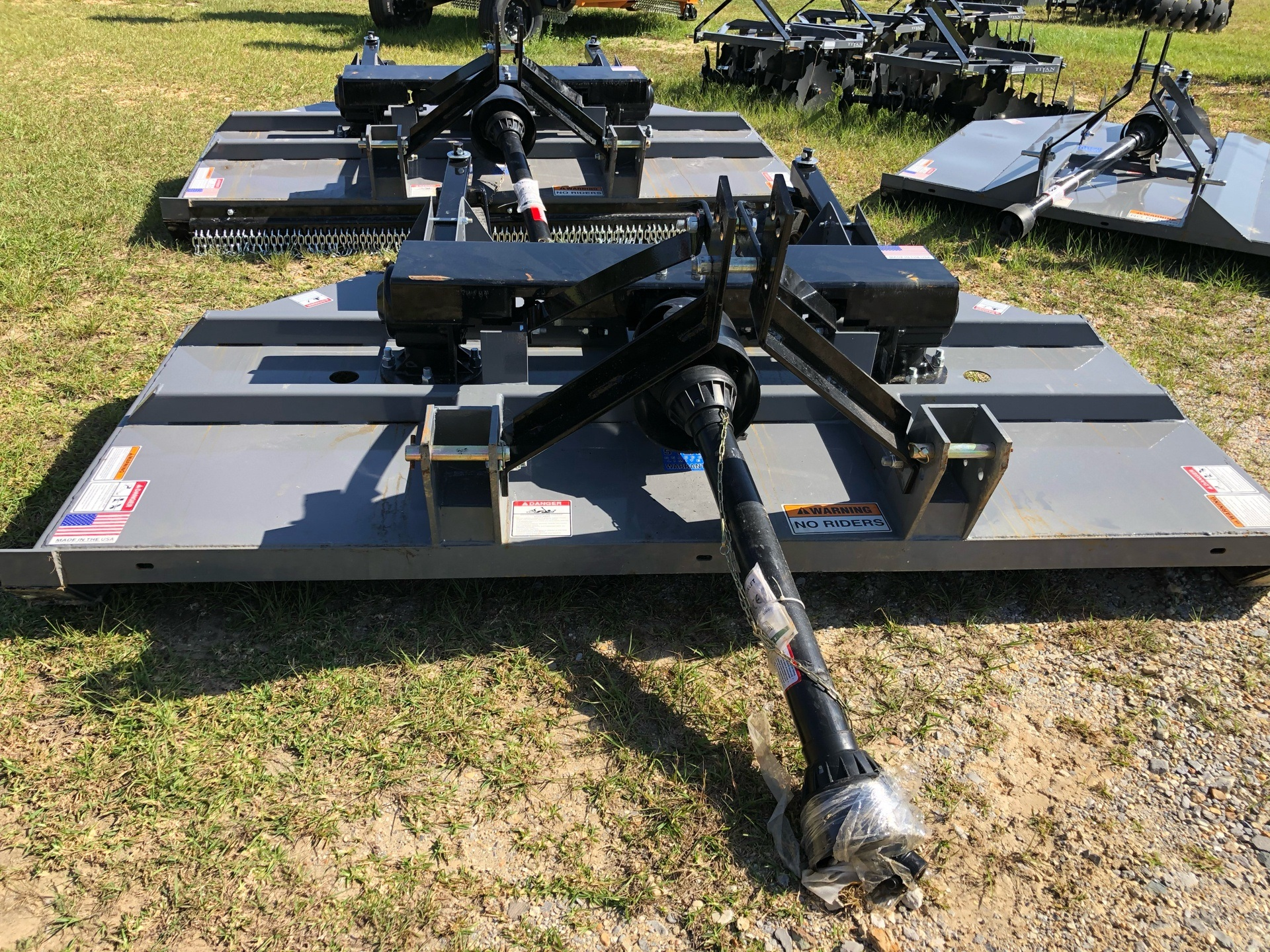 2021 Titan Implement 8' HD Cutter in Saucier, Mississippi - Photo 1