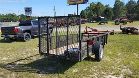 0 MISC MFR 5x12 with 2' sides and Rear Gate in Saucier, Mississippi