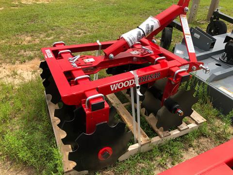 2020 Woods DHS48 Disc Harrow in Saucier, Mississippi - Photo 3