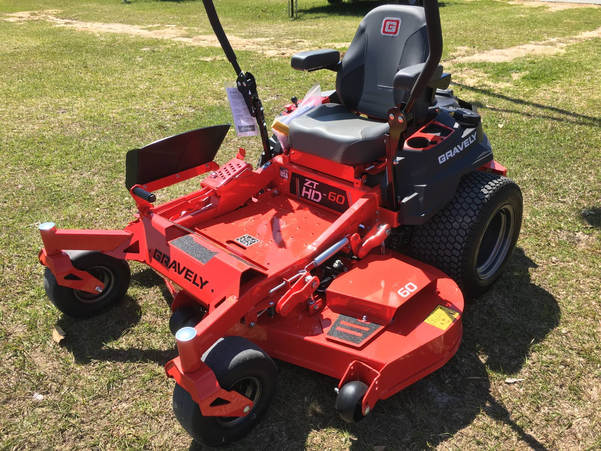 New 2018 Gravely USA ZT HD 60 (Kohler) Lawn Mowers in Saucier, MS ...
