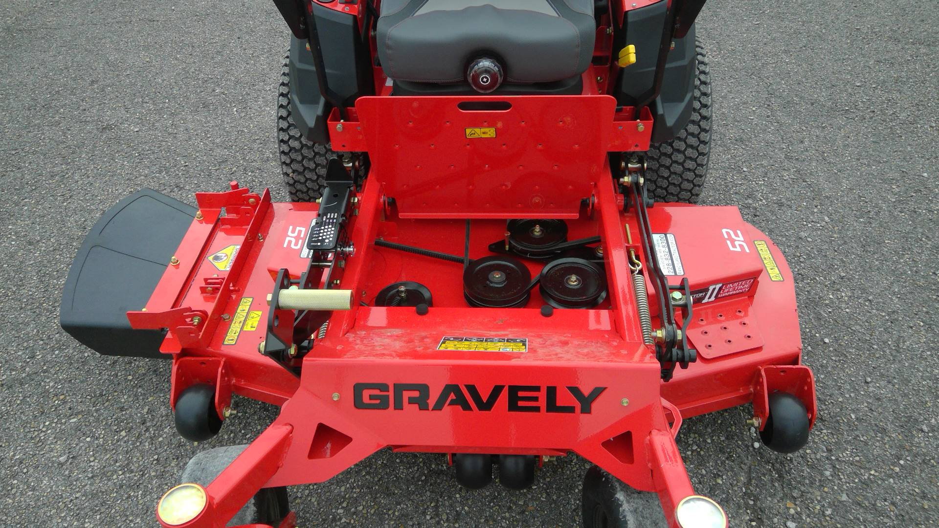 2017 Gravely USA Pro Turn 152 with Kawasaki FX691 in Saucier, Mississippi