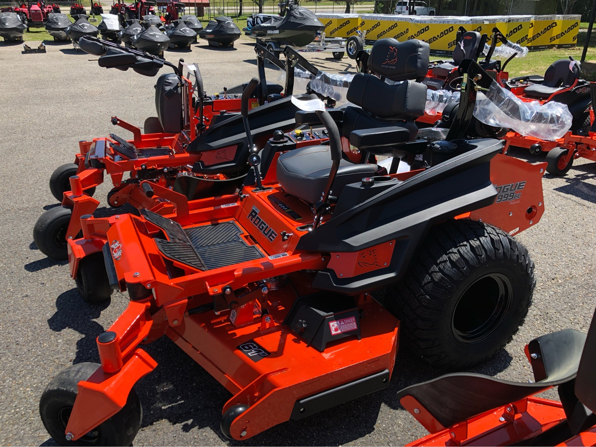 2019 Bad Boy Mowers 6100 Kawasaki FX Rogue (999 cc) in Saucier, Mississippi