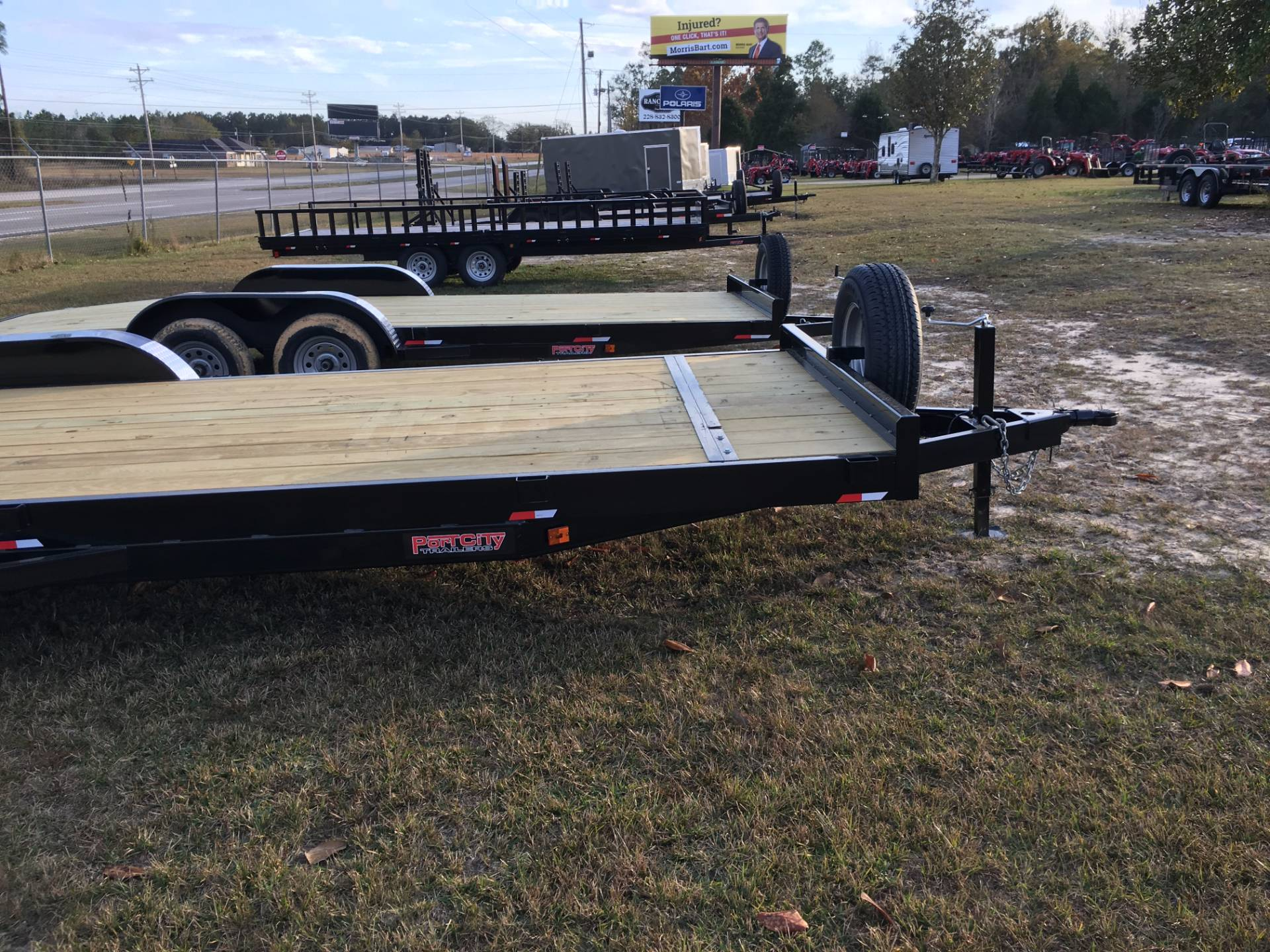 2017 Port City Trailers 22' Equipment Hauler 10K with FUR in Saucier, Mississippi