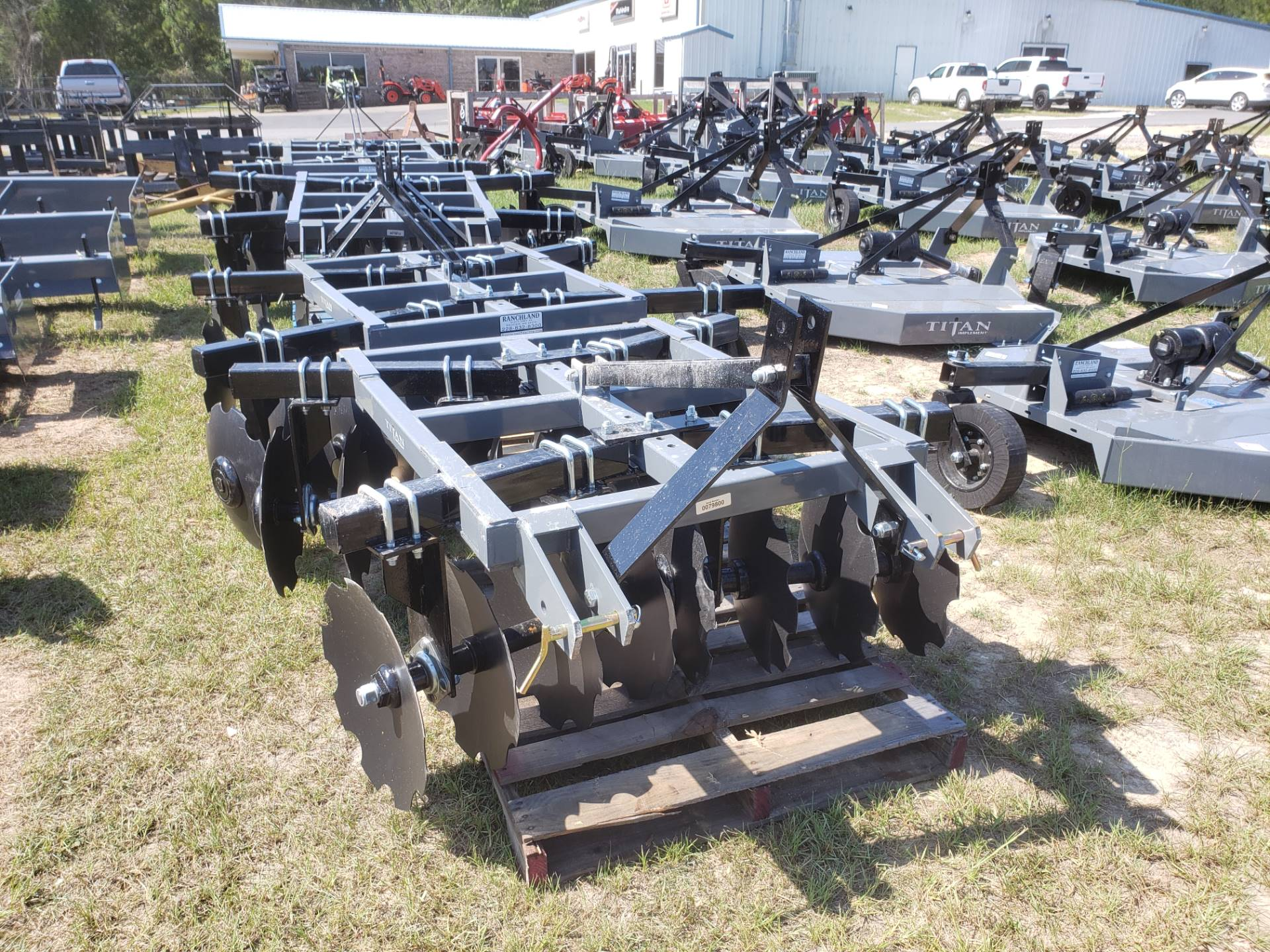 2020 Titan Implement 16x18 Disc - Adjustable Tube Disc in Saucier, Mississippi - Photo 1