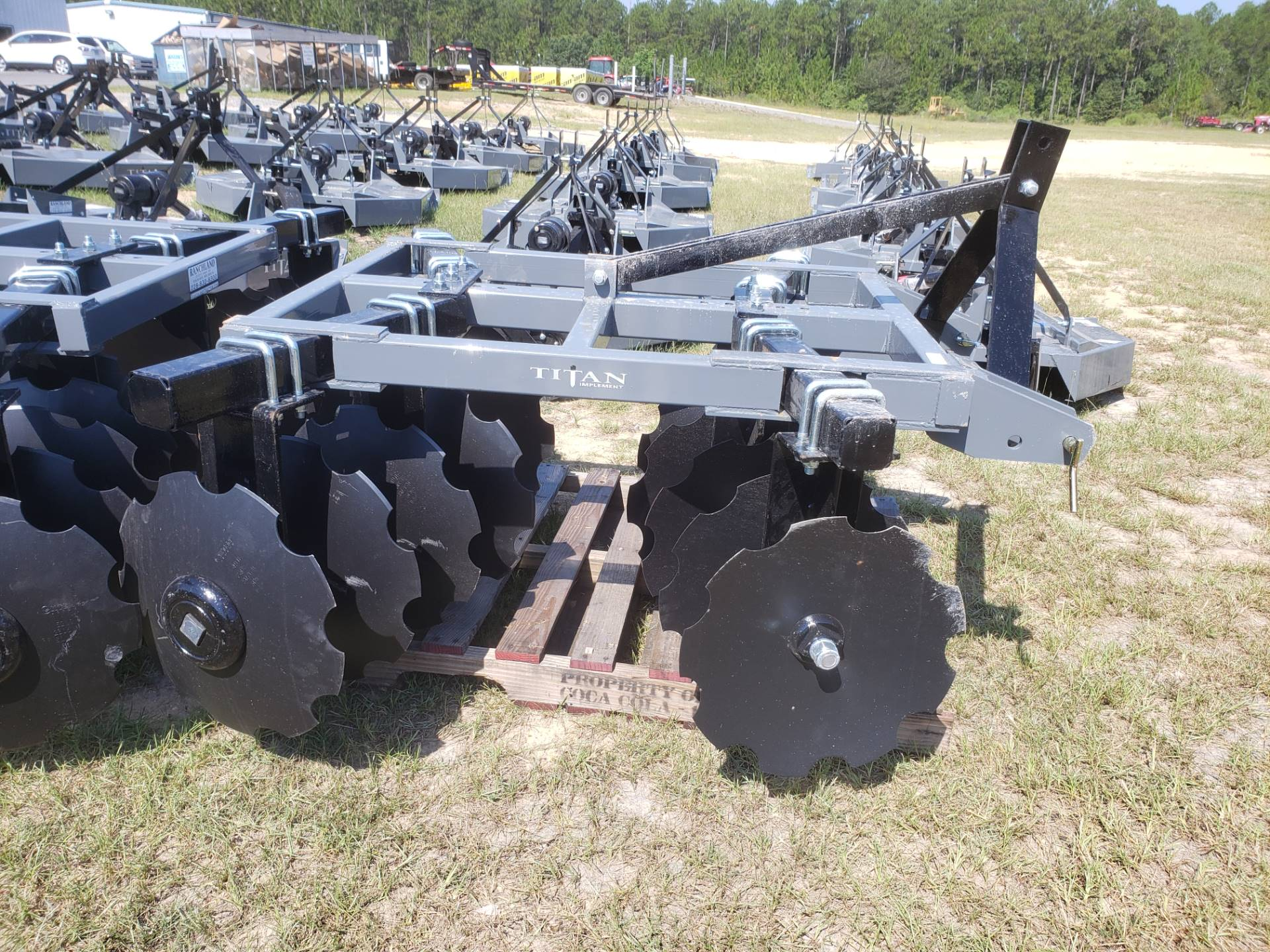 2020 Titan Implement 16x18 Disc - 5.5' Adjustable Tube Disc in Saucier, Mississippi - Photo 2
