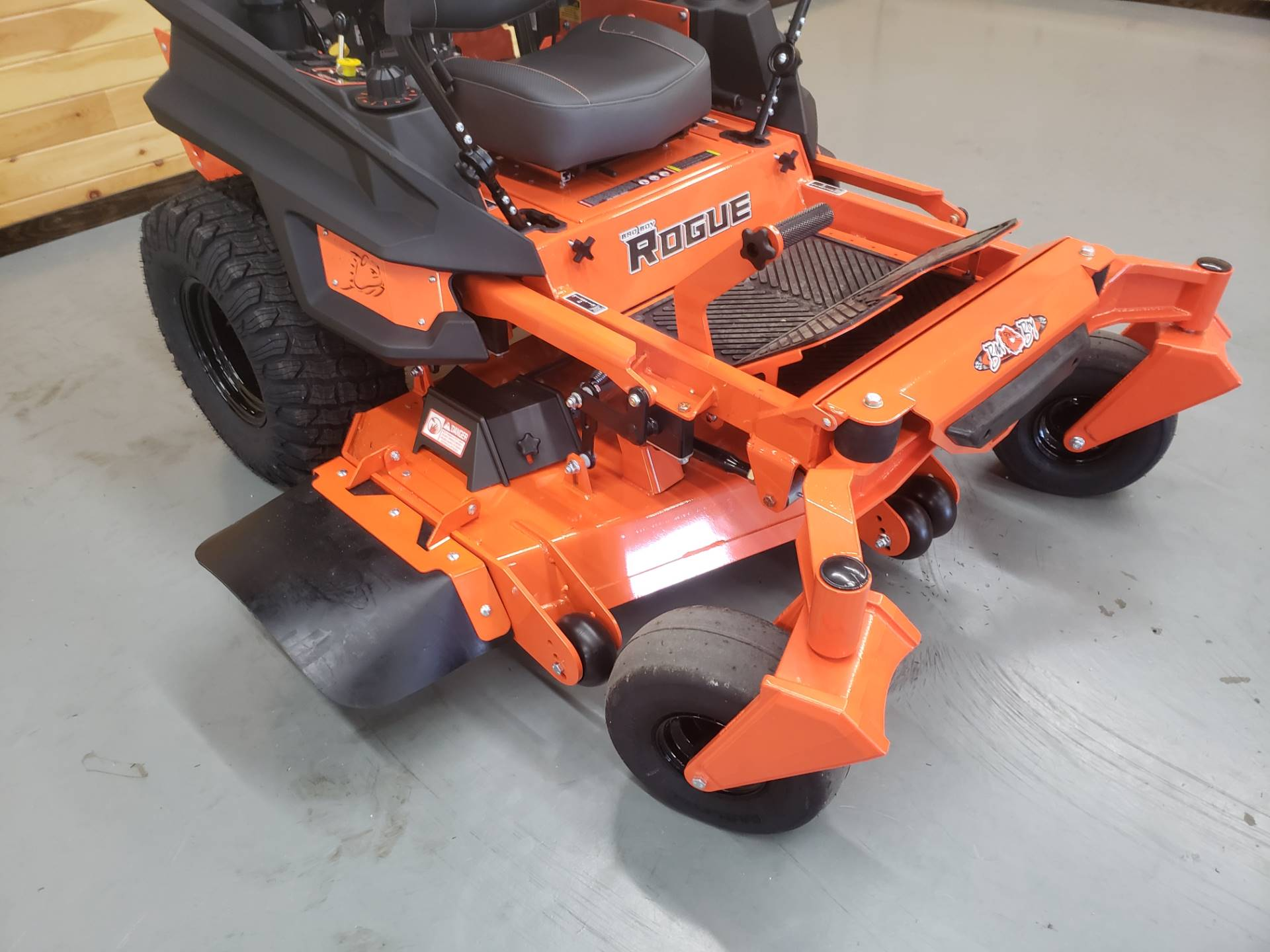 "2019 Bad Boy Mowers Rogue 54"" with 27hp Kawasaki in Saucier, Mississippi - Photo 5"