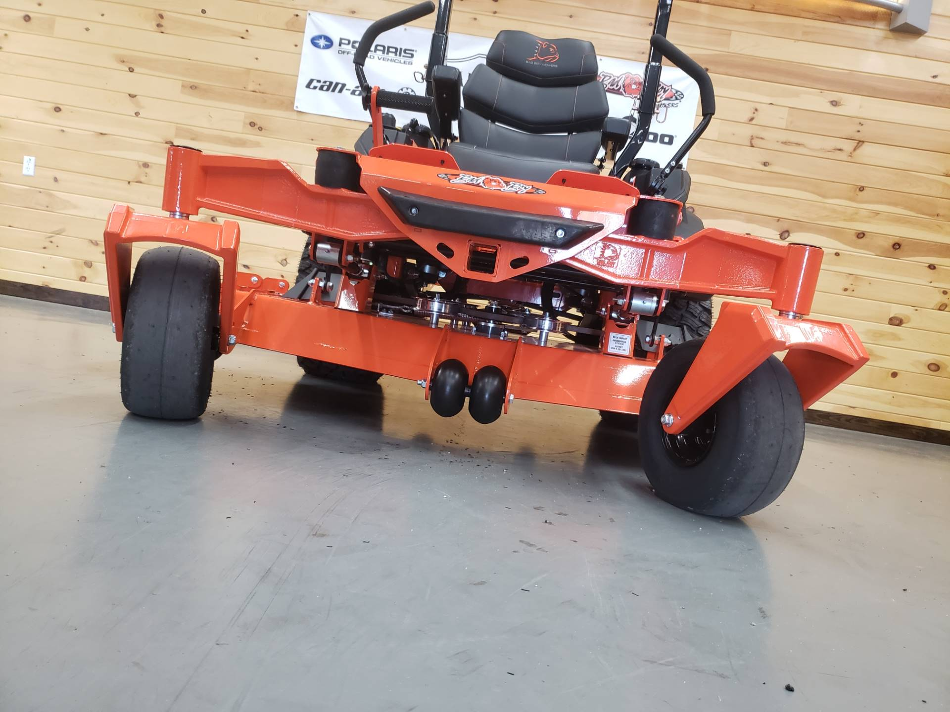 "2019 Bad Boy Mowers Rogue 54"" with 27hp Kawasaki in Saucier, Mississippi - Photo 10"