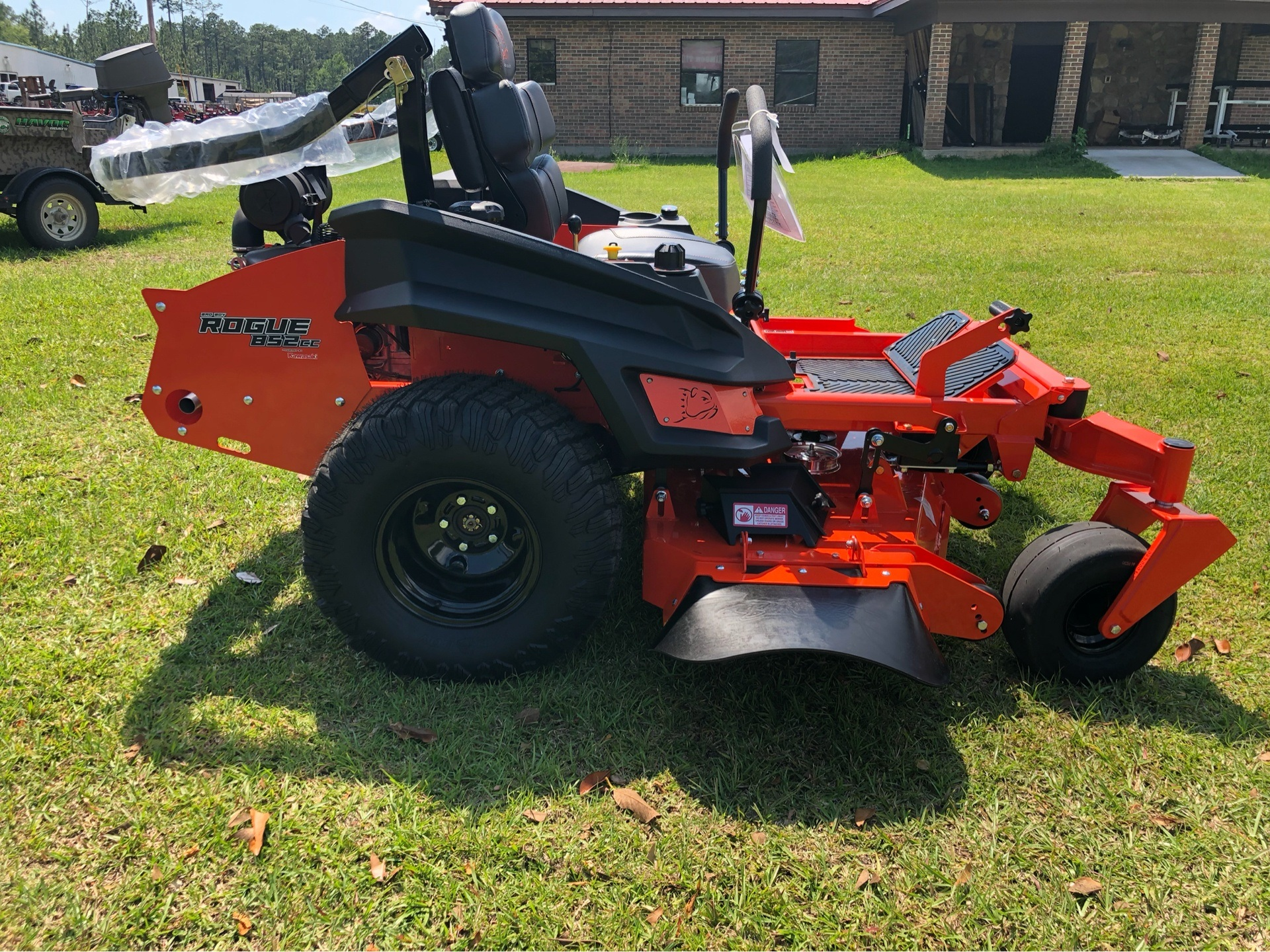 "2019 Bad Boy Mowers Rogue 54"" with 27hp Kawasaki in Saucier, Mississippi - Photo 1"