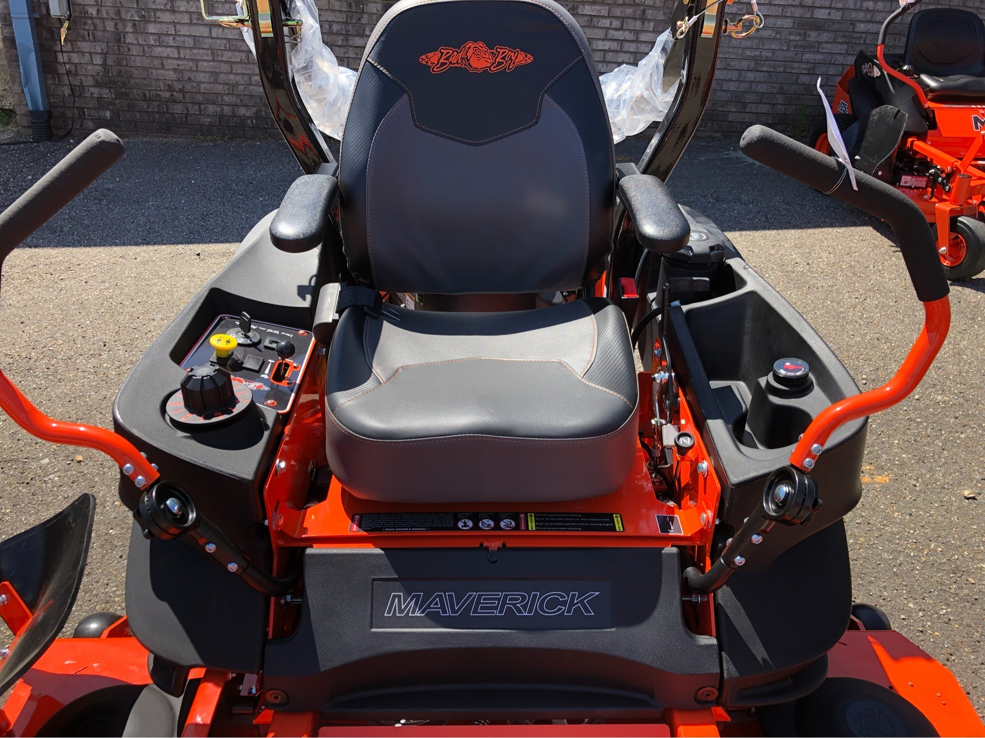 "2019 Bad Boy Mowers Maverick 60"" with Kawasaki FS730 in Saucier, Mississippi - Photo 2"