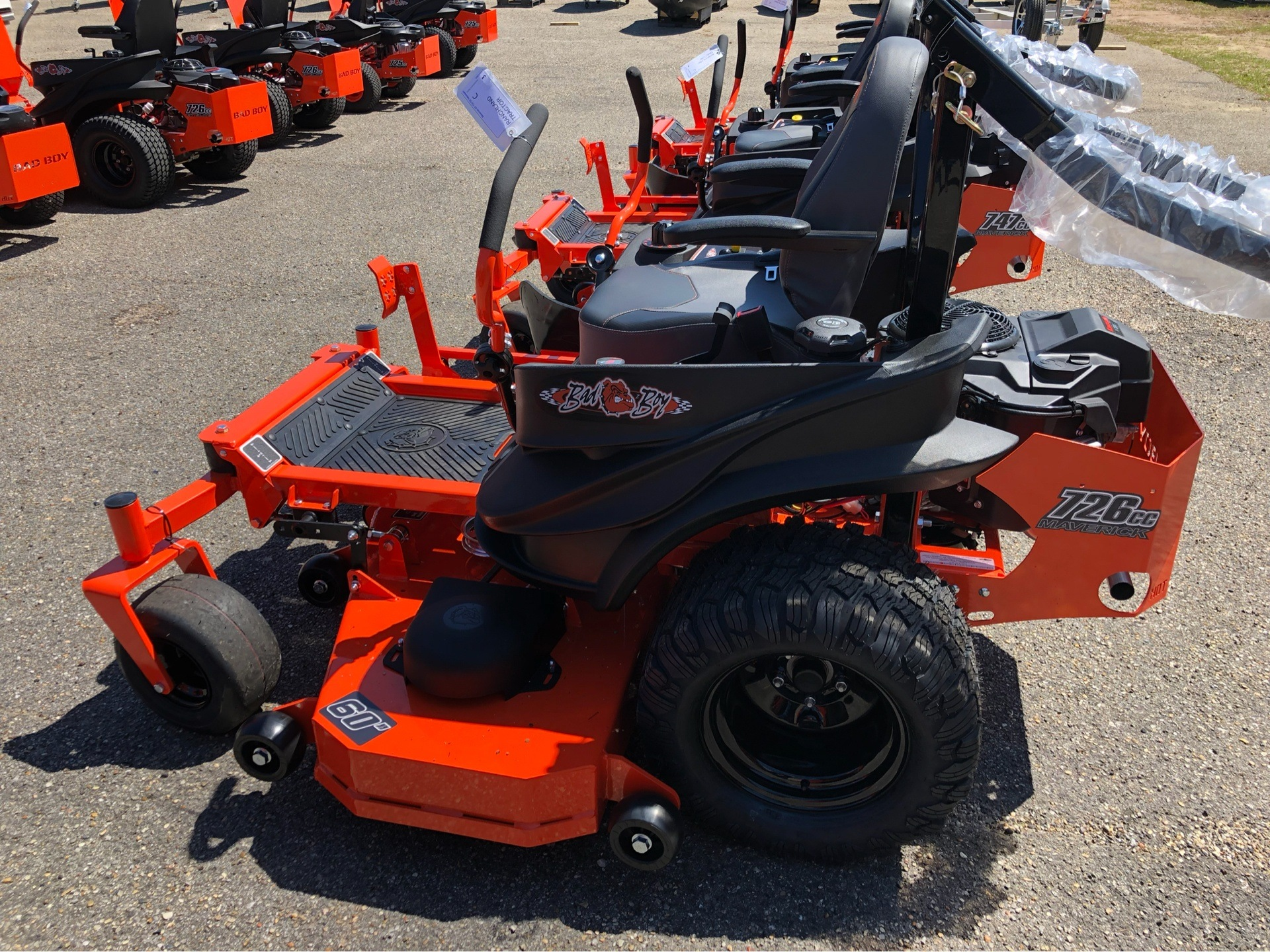 "2019 Bad Boy Mowers Maverick 60"" with Kawasaki FS730 in Saucier, Mississippi - Photo 4"