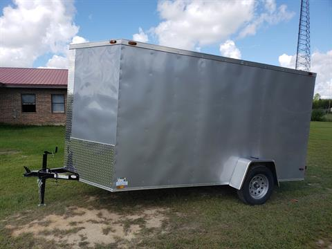 2019 Triple R Trailers 6x12 V-nose Cargo Trailer in Saucier, Mississippi - Photo 6