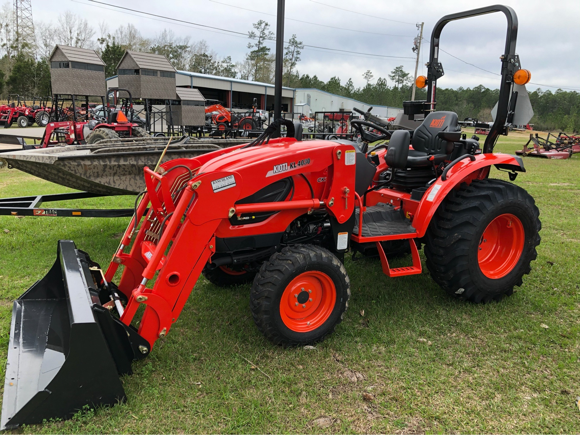 2019 KIOTI CK3510SE HST in Saucier, Mississippi - Photo 3