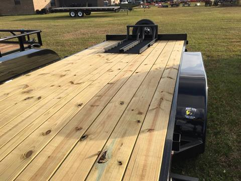 "2017 Port City Trailers 83"" x 18' Equipment Hauler 7K SIR in Saucier, Mississippi"