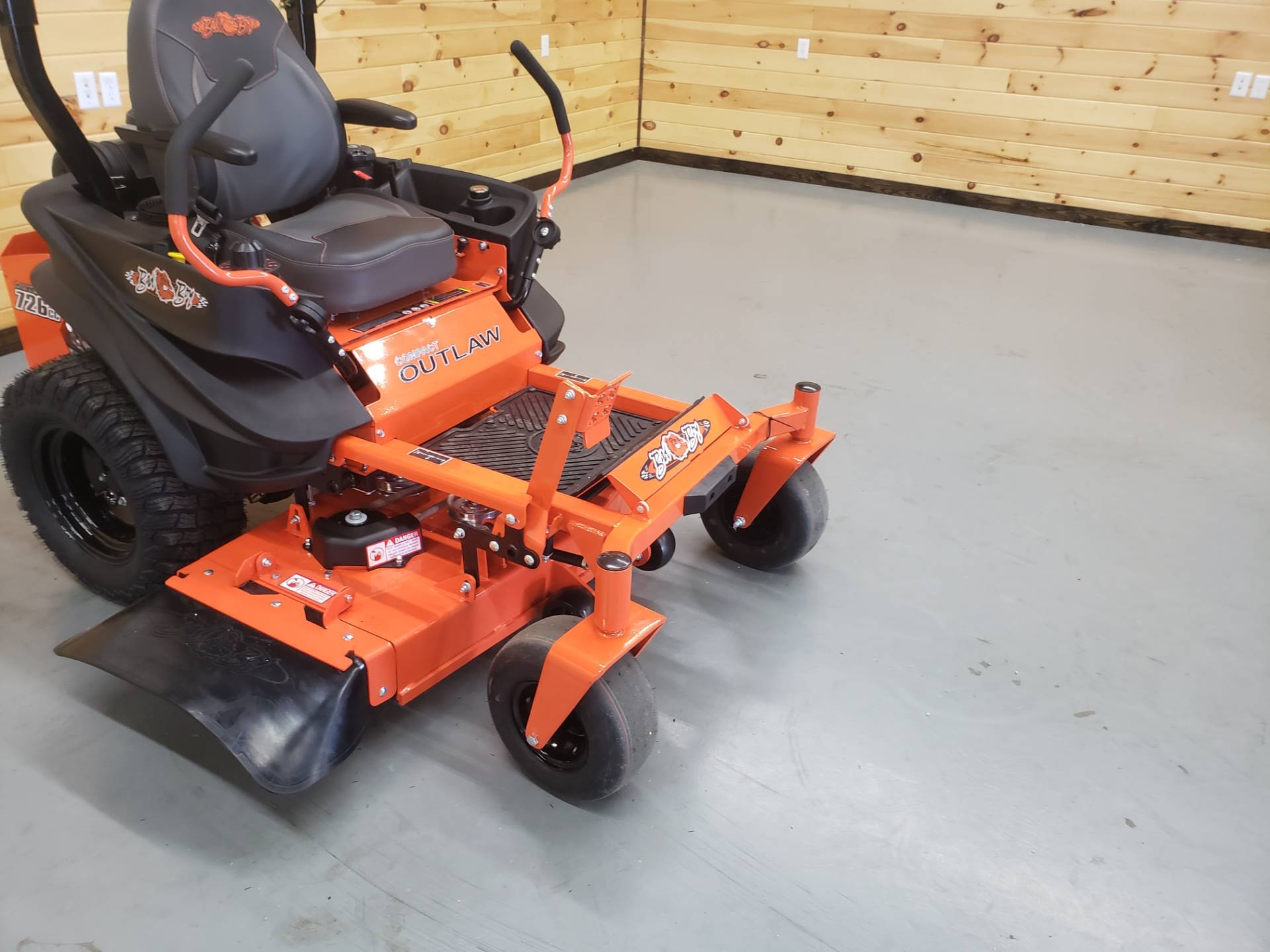 "2019 Bad Boy Mowers Outlaw Compact 42"" with Kawasaki FX691 in Saucier, Mississippi - Photo 2"