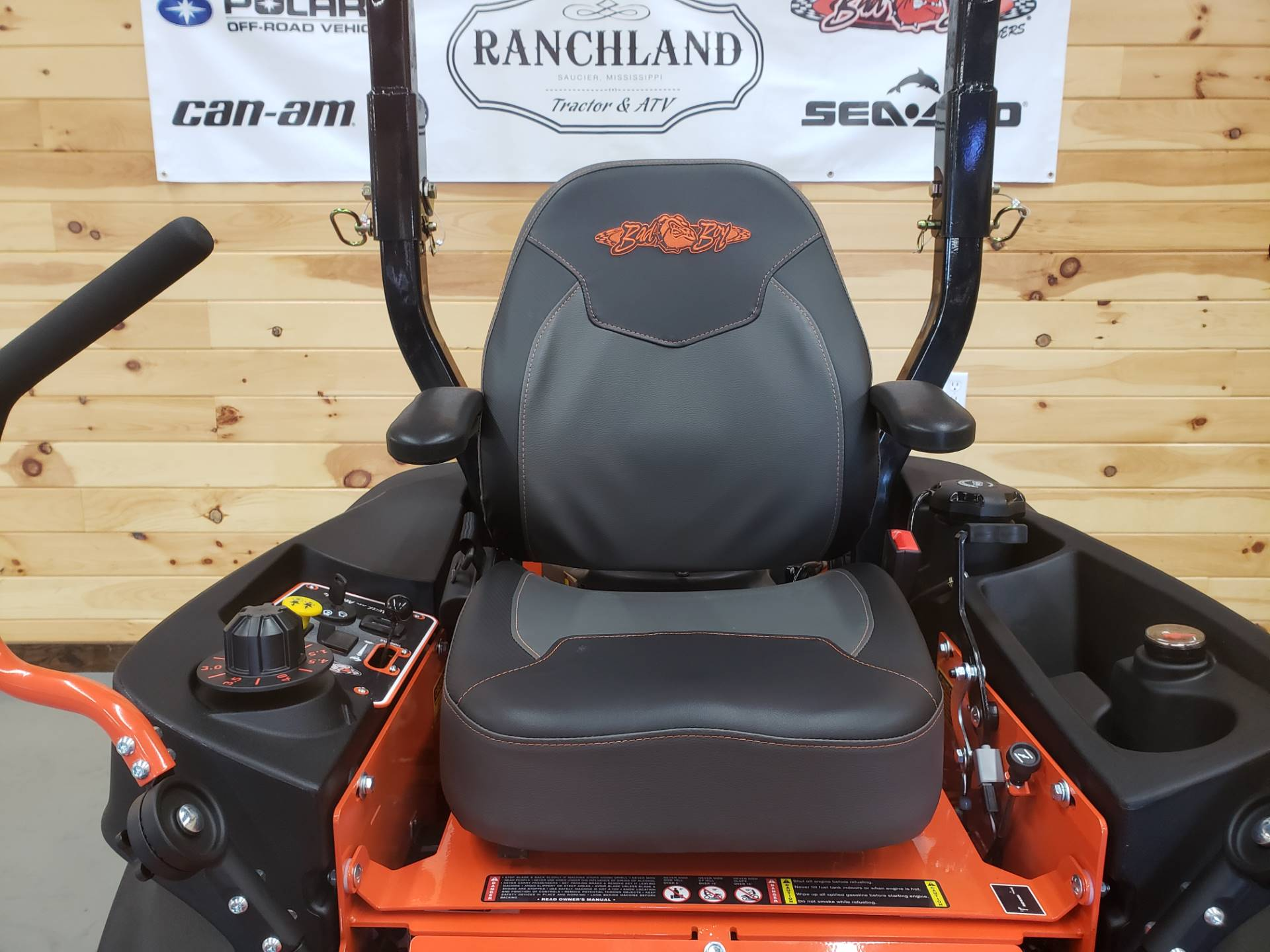 "2019 Bad Boy Mowers Outlaw Compact 42"" with Kawasaki FX691 in Saucier, Mississippi - Photo 6"
