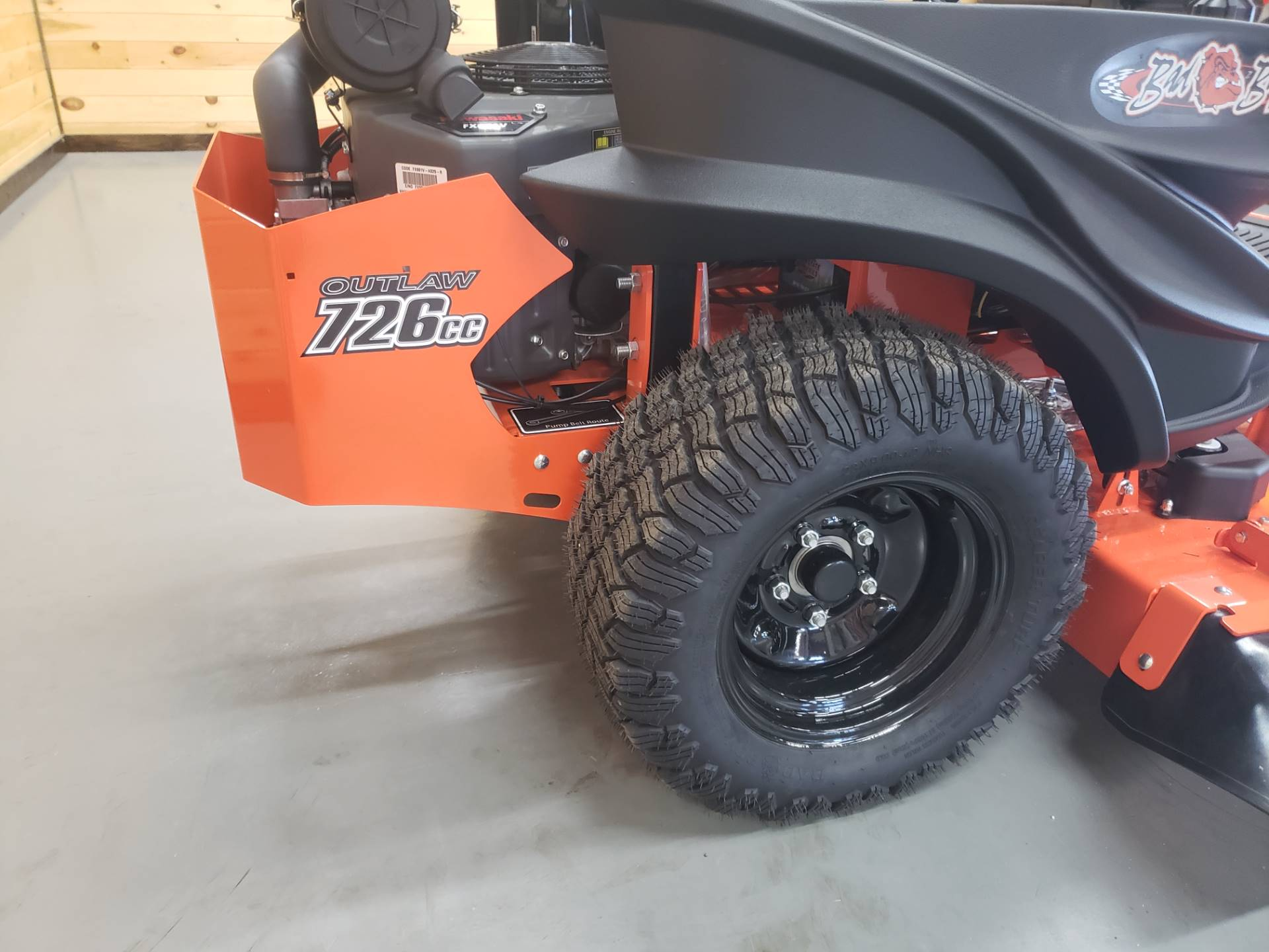 "2019 Bad Boy Mowers Outlaw Compact 42"" with Kawasaki FX691 in Saucier, Mississippi - Photo 12"