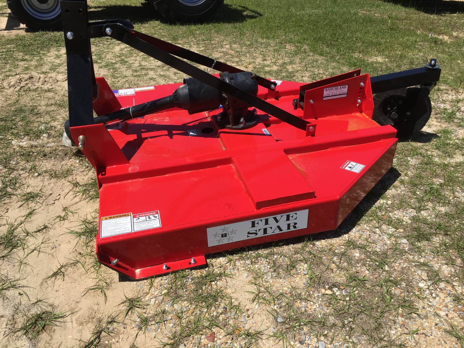 2018 Five Star 1205-RA  5' Rotary Cutter in Saucier, Mississippi