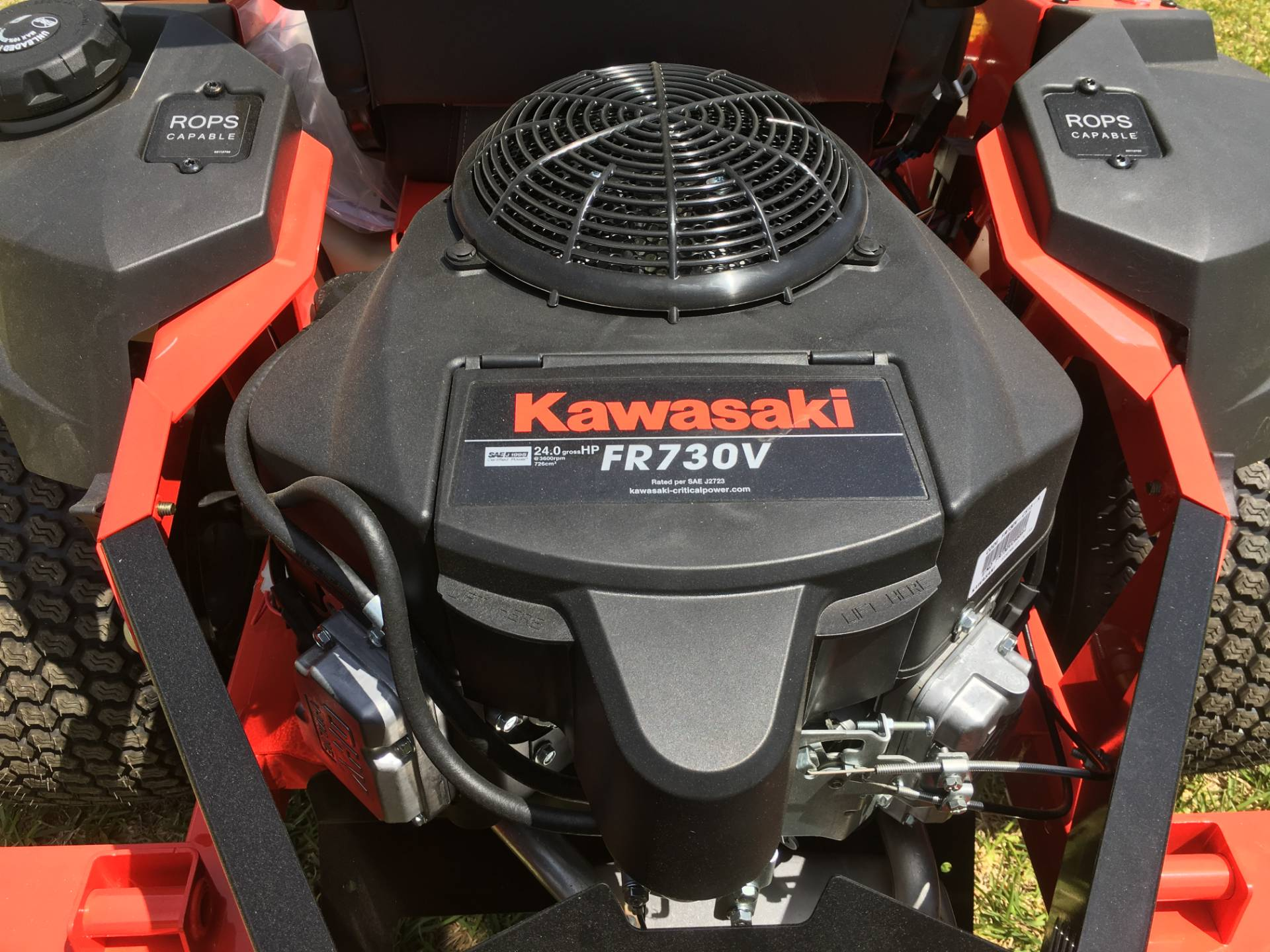 2018 Gravely USA ZT HD 60 (Kawasaki) in Saucier, Mississippi