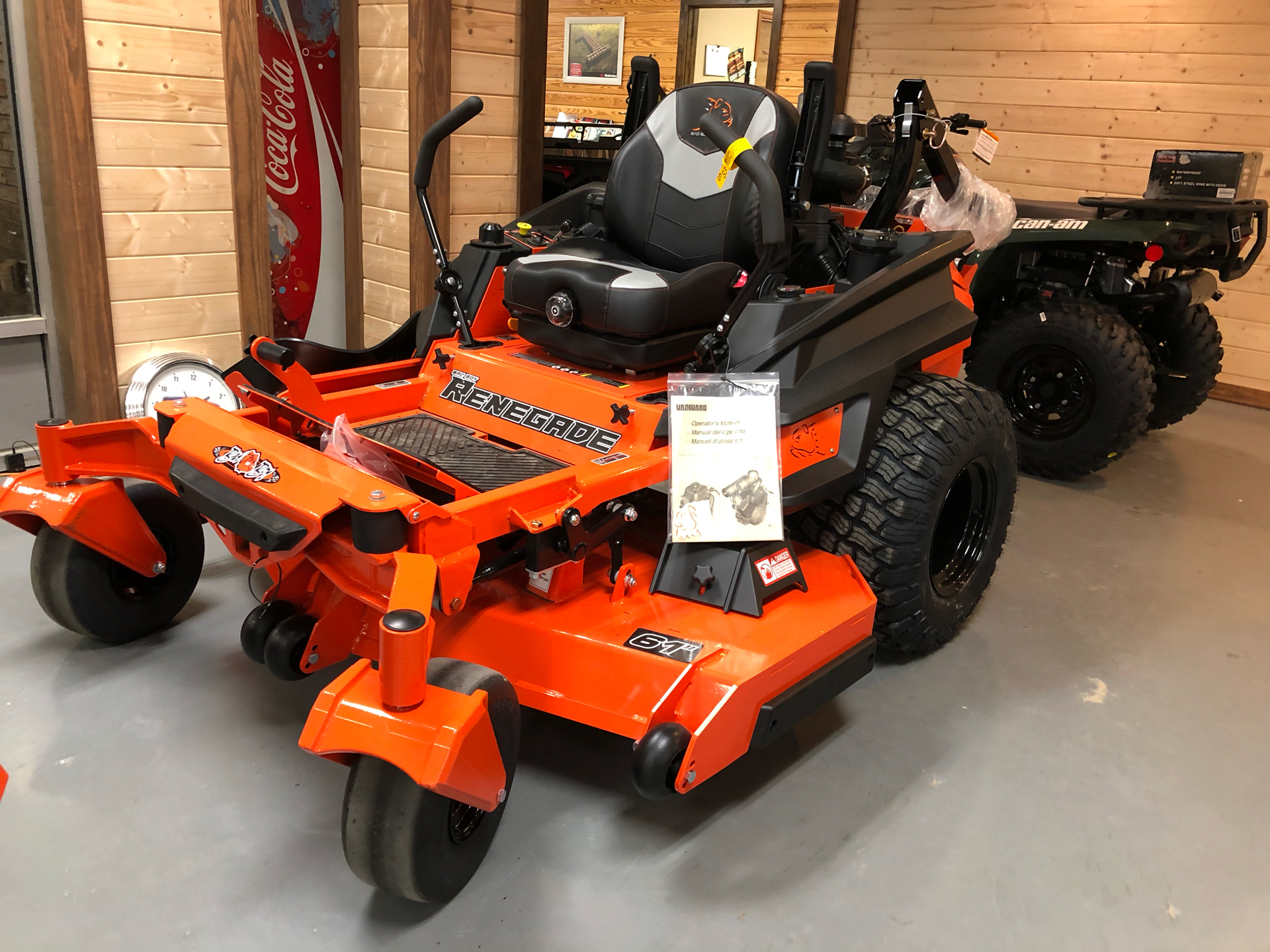 2021 Bad Boy Mowers Renegade 61 in. Vanguard EFI 37 hp in Saucier, Mississippi - Photo 1