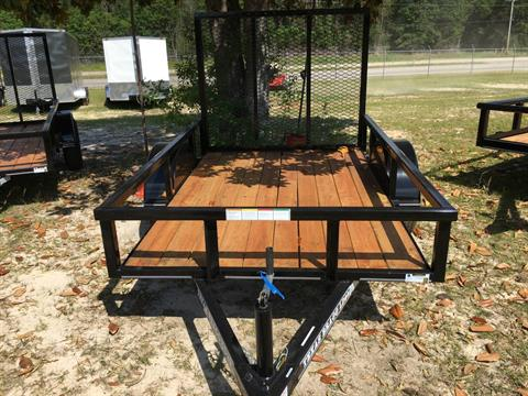 2018 Texas Bragg 5x8 LD, 4' Gate, Treated, LED in Saucier, Mississippi