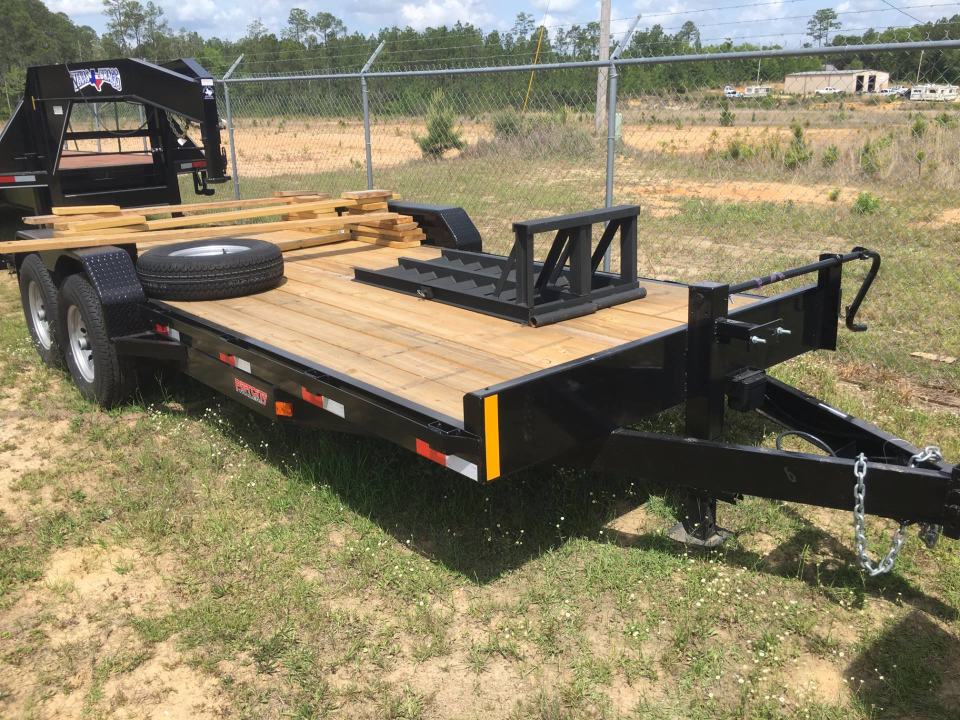 2017 Port City Trailers 20' Equipment Hauler 14K with FUR in Saucier, Mississippi