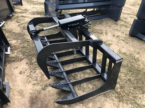 2021 Titan Implement 5' Root Grapple, Single Lid, SERG60 in Saucier, Mississippi - Photo 1