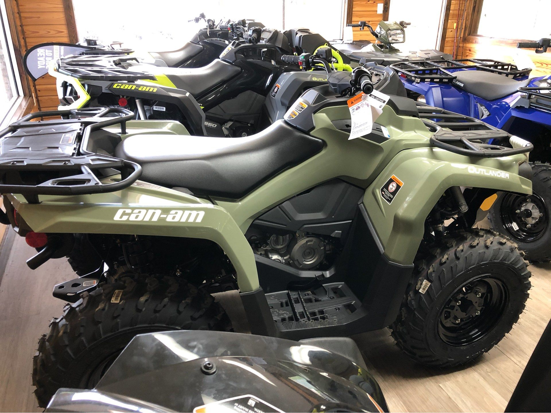 2019 Can-Am Outlander 450 in Saucier, Mississippi - Photo 1